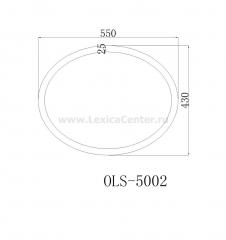 Раковина для ванной OLS-5002