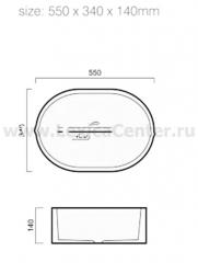 Раковина для ванной OLS-5011