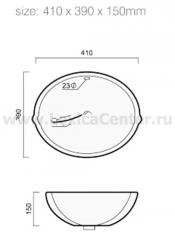 Раковина для ванной OLS-5020