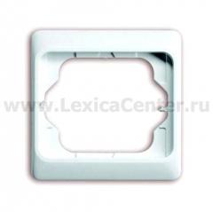Рамка 1 пост белый глянцевый alpha exclusive (ABB) [BJE1721 KA-24G] 1754-0-2965