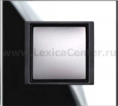 Рамка 1 пост черное стекло Unica Class (Schneider Electric) MGU68.002.7C1