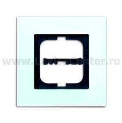 Рамка 1 пост стекло carat (ABB) [BJE1721-810] 1754-0-4250