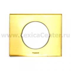 Рамка 1 пост золото Celiane (Legrand) 69131