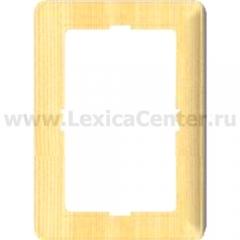 Рамка 2-ая Wessen 59 с/у для розетки РС16-254 сосна (KD-RS254-78)