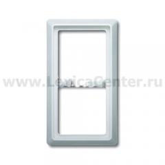 Рамка 2 поста белый Allwetter 44 (ABB) [BJE2102-32] 1730-0-0266