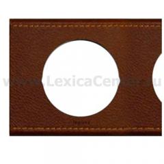 Рамка 2 поста кожа текстура Celiane (Legrand) 69402