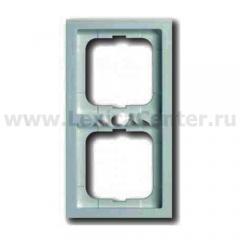 Рамка 2 поста серый future stone (ABB) [BJE1722-189] 1754-0-4246