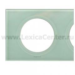Рамка 2 поста смальта белая глина Celiane (Legrand) 69312