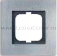 Рамка 2 поста вертикальная хром carat (ABB) [BJE1732-826] 1754-0-4271