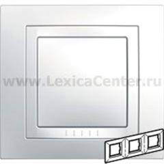 Рамка 3-ая белая MGU2.006.18