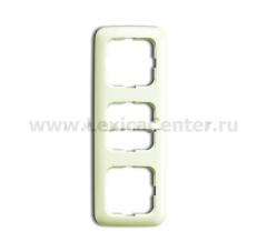 Рамка 3 поста белый Duro 2000 SI (ABB) [BJE2513-212] 1725-0-1468