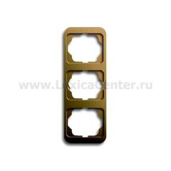 Рамка 3 поста вертикальная бронза alpha nea (ABB) [BJE1733-21] 1754-0-1769