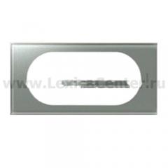 Рамка 4/5 модулей смальта металлик Celiane (Legrand) 69345