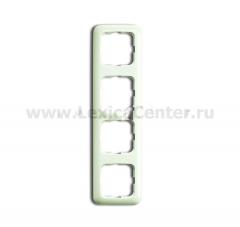 Рамка 4 поста белый Duro 2000 SI (ABB) [BJE 2514-212] 1725-0-0647
