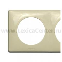 Рамка 4 поста слоновая кость Celiane (Legrand) 68694