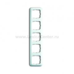 Рамка 5 постов альпийский белый Reflex SI (ABB) [BJE2515-214] 1725-0-0969