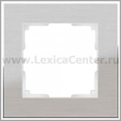 Рамка на 1 пост (алюминий) Werkel Aluminium WL11-Frame-01