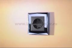 Рамка на 1 пост (черный) Werkel Diamant WL08-Frame-01