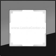 Рамка на 1 пост (черный) Werkel Favorit WL01-Frame-01