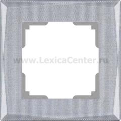 Рамка на 1 пост (серебряный) Werkel Shine WL10-Frame-01