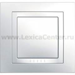 Рамка Unica белый 1-ая MGU2.002.18