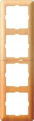 Рамка Wessen 59 четырехместная бук (KD-4-88)