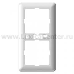 Рамка Wessen 59 двухместная цвет белый (KD-2-18)