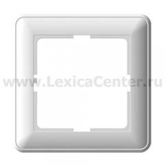 Рамка Wessen 59 одноместная цвет белый (KD-1-18)