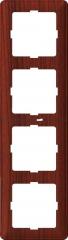 Рамка Wessen 59 с/у четырехместная мореный дуб (KD-4-98)