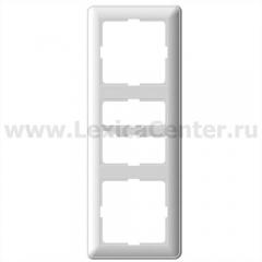 Рамка Wessen 59 трехместная цвет белый (KD-3-18)