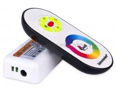 RF RGB 18A Электростандарт Сенсорный контроллер с ПДУ для светодиодной ленты