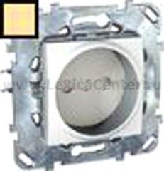 Розетка 1-ая б/з с защитными шторками винт. зажим MGU5.033.25ZD