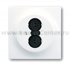 Розетка для громкоговорителя альпийский белый mpuls (ABB) [BJE1751-74] 1753-0-4971