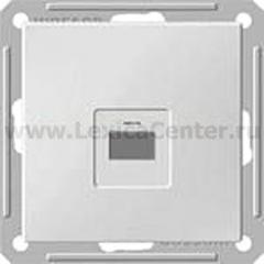 Розетка компьютерная Wessen 59 с/у без рамки КАТ.5Е. белый (RSI-152K5E-1-86)