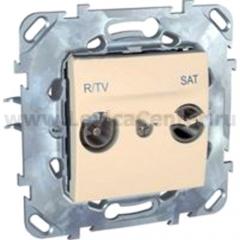 Розетка TV-SAT единственная MGU5.454.25ZD