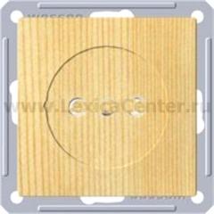 Розетка Wessen 59 с/у без рамки (250В, 16А, с ЗП) сосна (RS16-151-7-86)