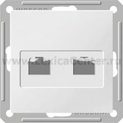 Розетка Wessen 59 с/у без рамки КАТ.5Е 2-Я. белый (RSI-251KK5E-1-86)