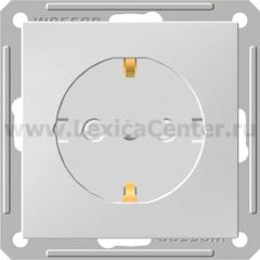 Розетка Wessen 59 с/у без рамки С ЗК (с ЗП) белый (RS16-152-1-86)