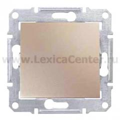 SE Sedna Титан Выключатель 1-клавишный 10 А (сх.1) (SDN0100168)
