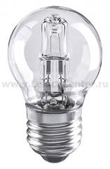 Шар G45 28W E27 Электростандарт Лампа галогенная