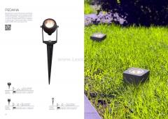 SL097.505.01 Светильник уличный наземный ST Luce Белый/Прозрачный LED 1*8W