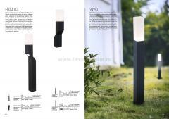 SL100.701.02 Светильник уличный настенный ST Luce Серый/Белый LED 2*5W