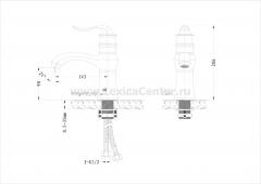 Смеситель OLS K2019-D