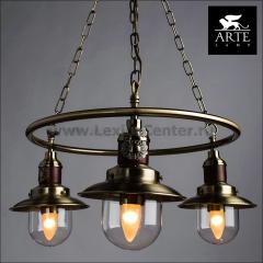 Светильник Arte lamp A4524LM-3AB Sailor