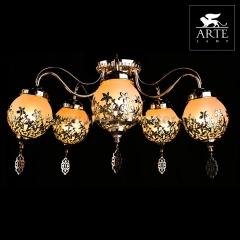 Светильник Arte lamp A4552PL-5GO Moroccana