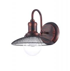 Светильник Colosseo optima 72419/1W медно-коричневый