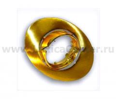 Светильник галогенный FT 167A SG MR16 50w сатин золото