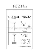 Светильник Globo 33240-3 Solar