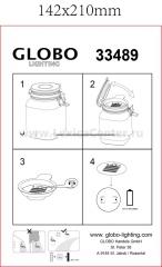 Светильник Globo 33489