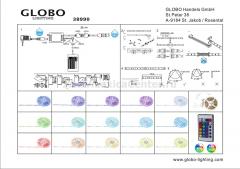Светильник Globo 38990 LED Band